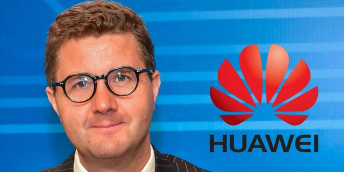 Roland Sladek, vice president of International Media Affairs at Huawei