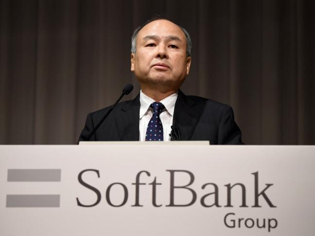 President of Japan's mobile carrier Soft Bank Group Masayoshi Son. KAZUHIRO NOGI / AFP