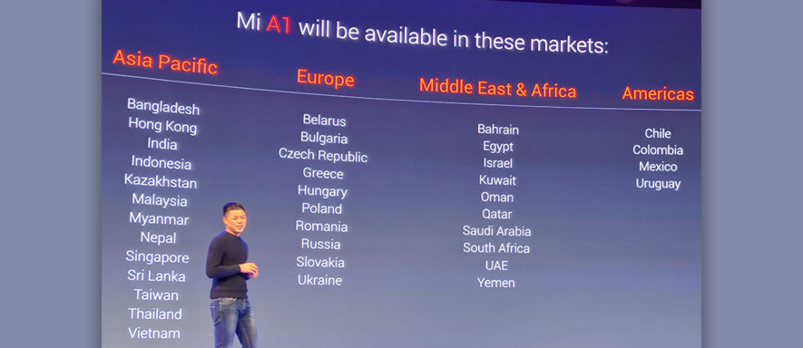 Chinese smartphone manufacturer enters European market as
